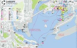 Cardiff Bay Map