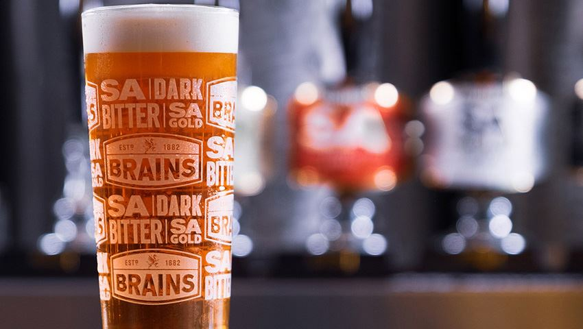 Brains Beer Delivery