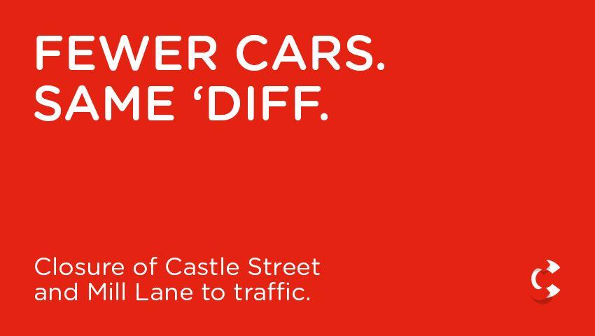 Fewer Cars. Same 'Diff.
