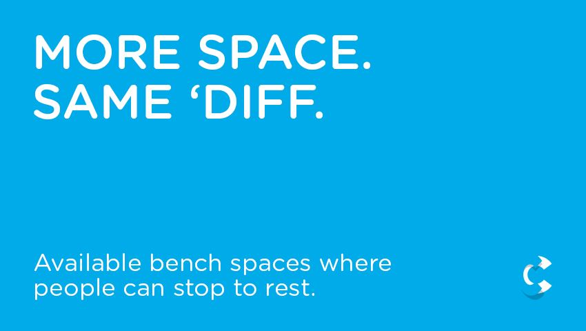More Space. Same 'Diff.