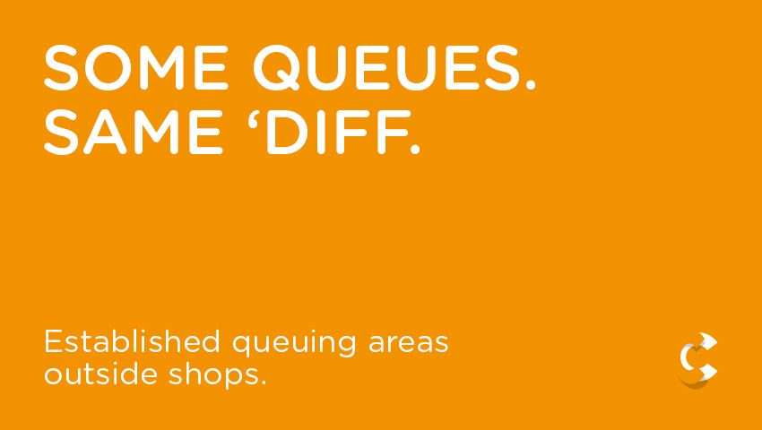 Some Queues. Same 'Diff.