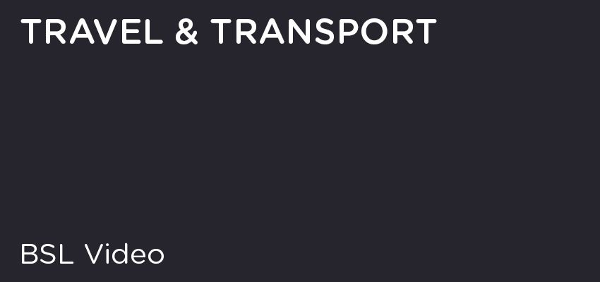 BSL - Travel & Transport